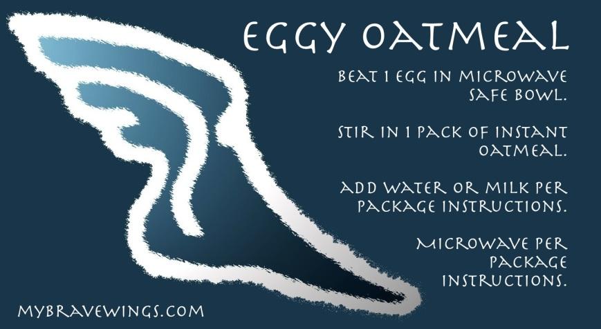 eggy oatmeal