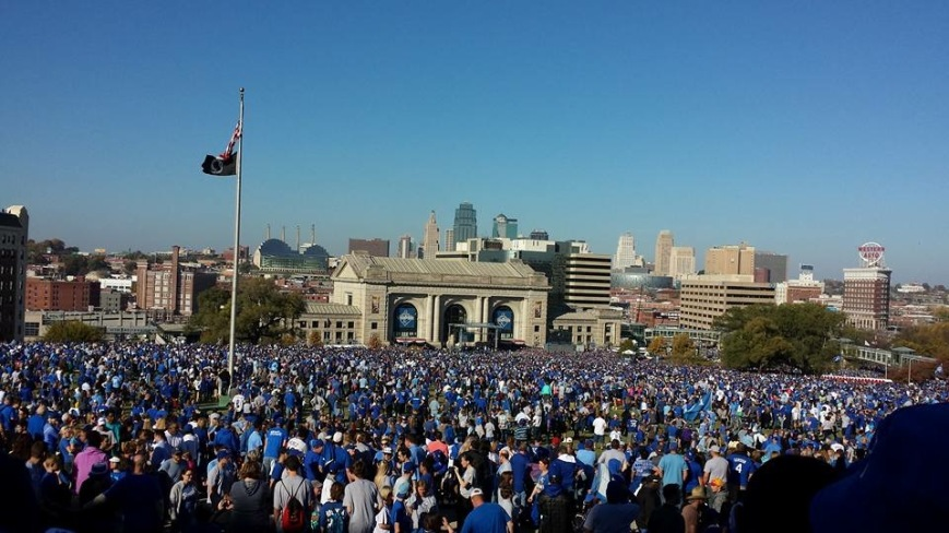 Photo courtesy Mark Weber. Taken from the Liberty Memorial.